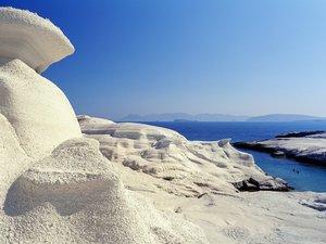 安卓风景 美如画 蓝天 心旷神怡 冰山 大海手机壁纸