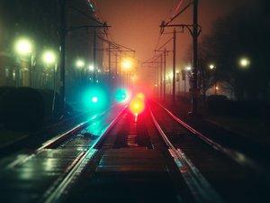 安卓风景 铁路 车展 摄影 深夜手机壁纸