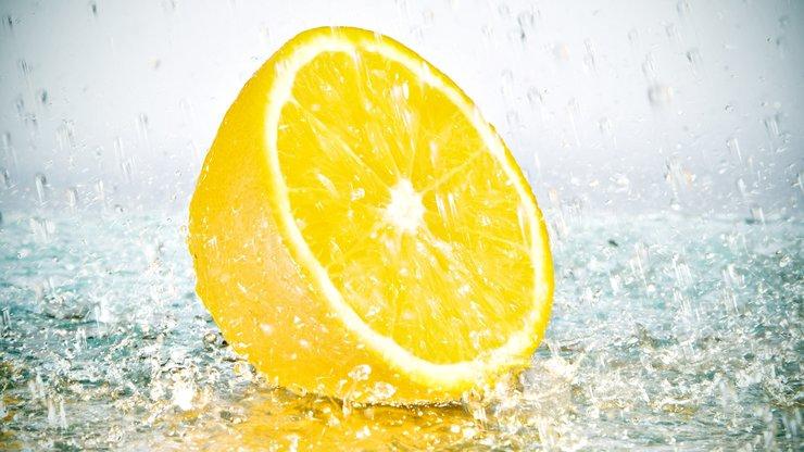 安卓小清新 动感水果 柠檬手机壁纸