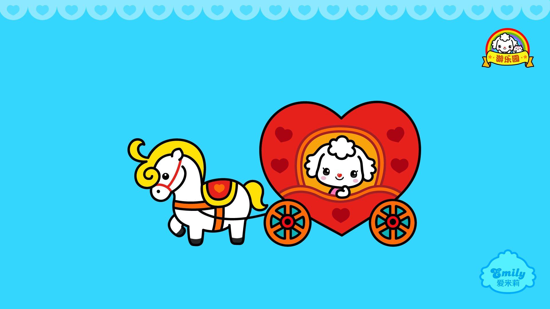 android安卓动漫 卡通 爱米莉 可爱 公仔高清手机壁纸