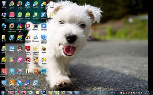 可爱狗狗桌面主题