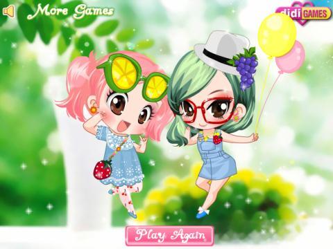 可爱水果女生3