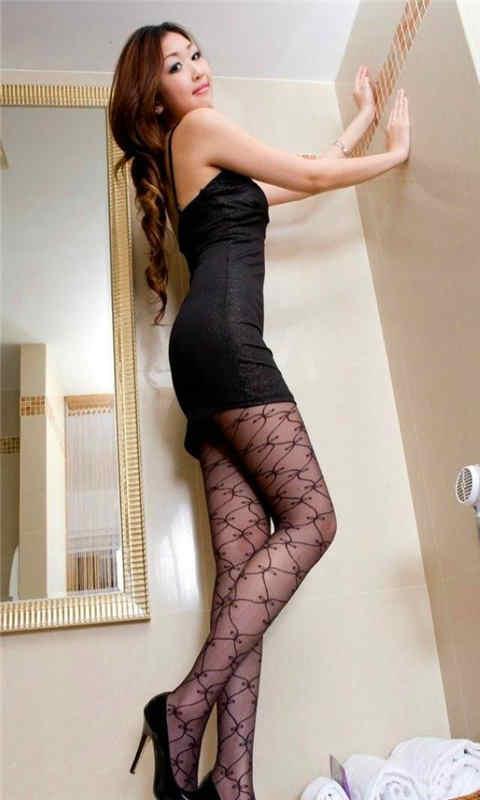 丝袜美腿长腿美女动态壁纸