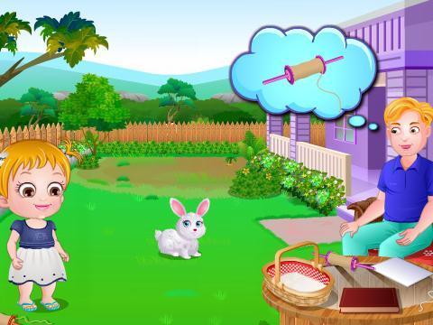 周末到了,可爱宝贝和她的爸爸在院子里玩耍,她看到了院子里的风筝,于是她邀请爸爸一起和她放风筝,可是在放风筝的过程中出现了一系列的问题,可爱宝贝和她的爸爸能否克服这些问题,最后和伙伴们顺利的放风筝呢,让我们到游戏中一起来看一下吧。...