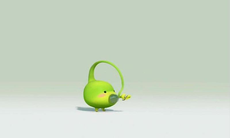 这个可爱的小家伙有一个朴实亲切的名字——豆儿