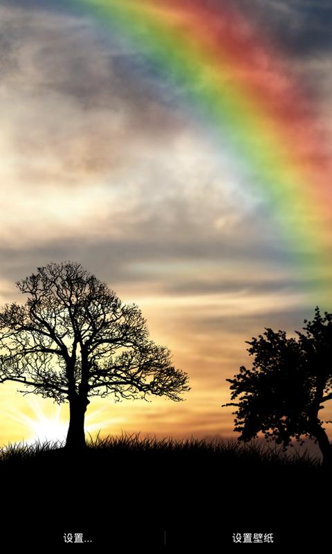 风景动态壁纸是一个清新,壮观的黎明日出动画场景,这是属于你的早晨.