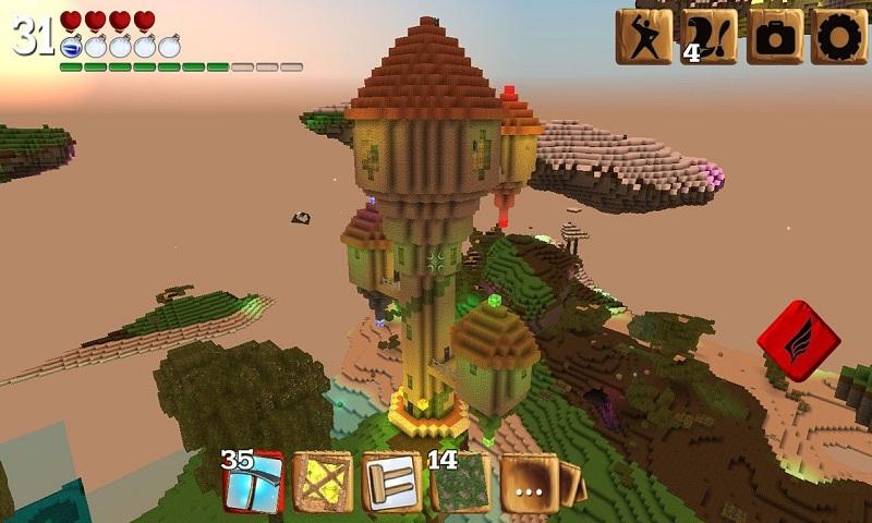 被尘封的故事-RPG版我的世界安卓版高清截图