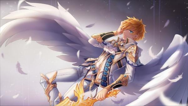 当挥舞破晓时第一道曙光所化形的大剑