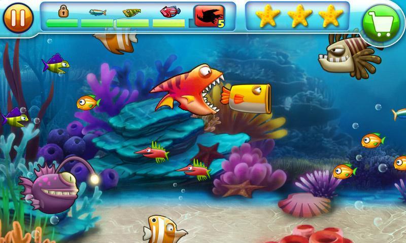 大鱼吃小鱼-海底霸王