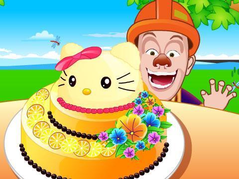 熊出没之光头强的蛋糕