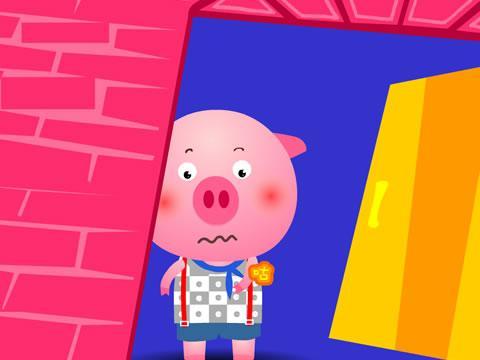 小猪吃西瓜动画