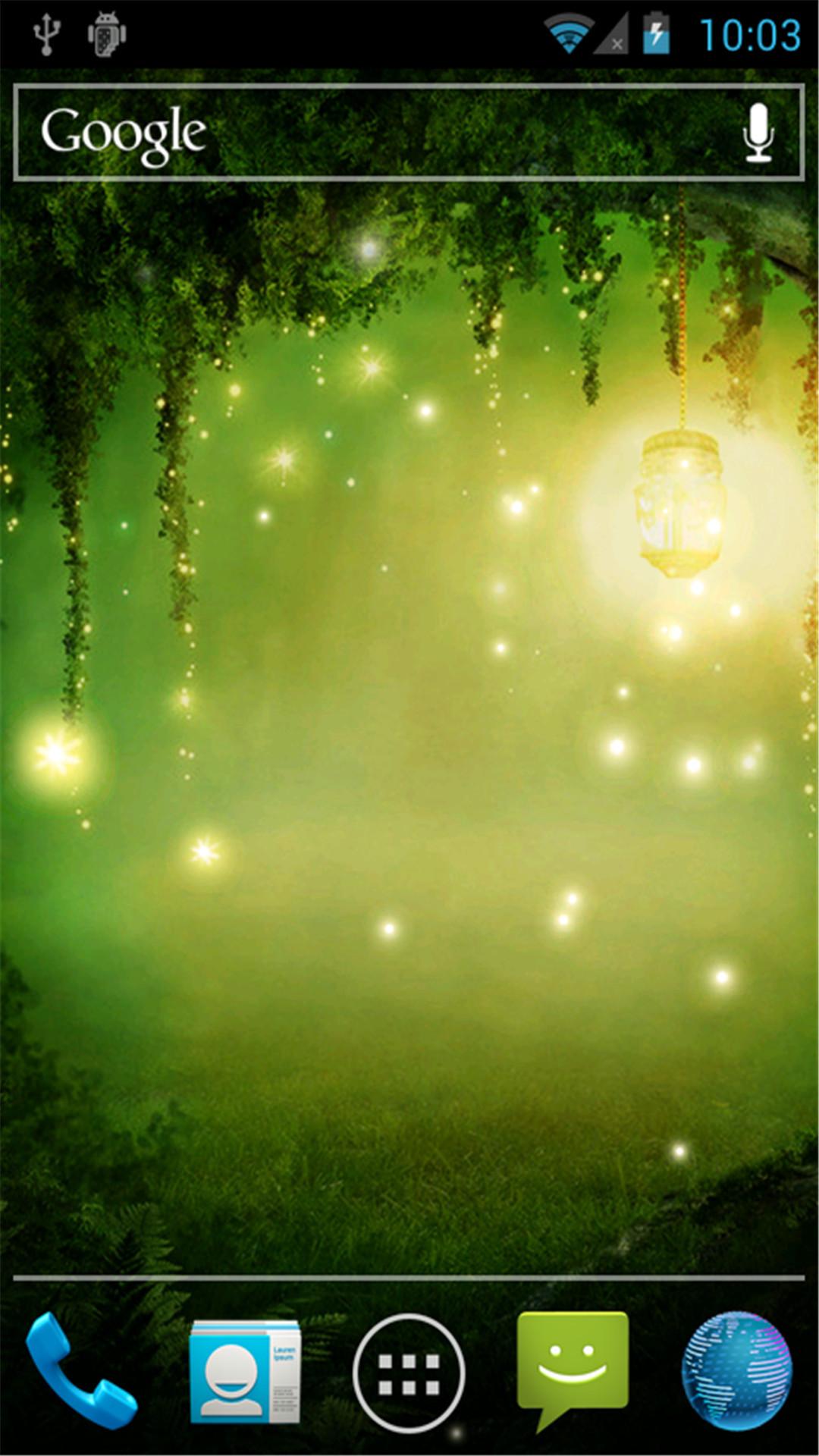 萤光森林-动态壁纸图片