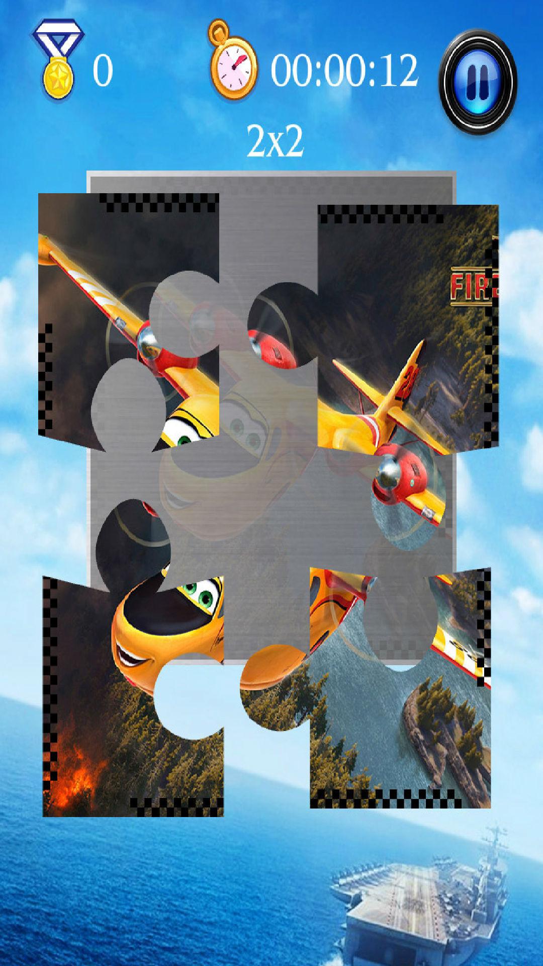 游戏 休闲益智 >飞机总动员2拼图  精选多张飞机总动员2动漫图片,全家