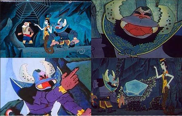 > 《葫芦娃》人物中的大赢家   蝎子精比起葫芦娃,爷爷,蛇精来说,蝎