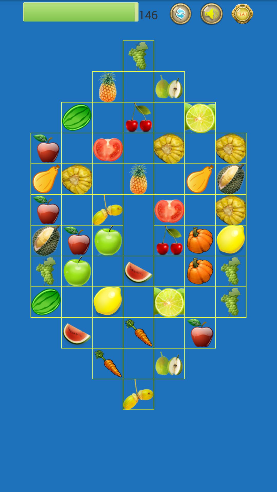 > 水果连连看  水果连连看是一款休闲娱乐游戏,简洁清新的界面,可爱的