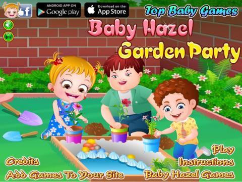 游戏宝库 >可爱宝贝花园派对
